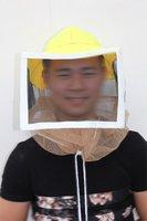 Żółty pszczoła hat eksport kapelusz pszczelarski typu sprzętu outdoorowego ochronne ochronne specjalne akcesoria hurtownie narzędzia