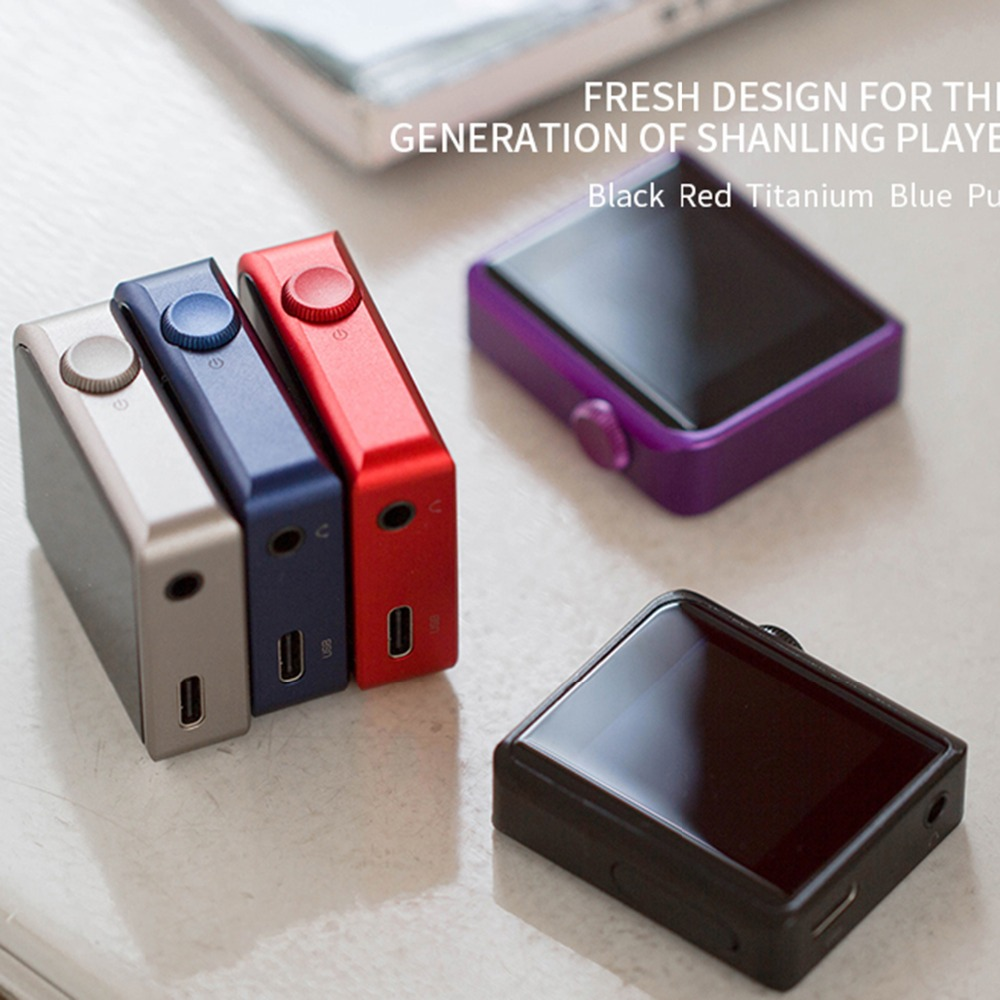 Shanling M0 Bluetooth MP3 Speler Touch Screen Music Player Ondersteuning USB Aduio Micro TF Card Mini Sport Lossless - 5