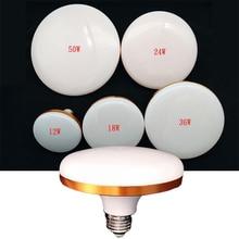 UFO LED Lamp Energy Saving Led Light E27 Led Bulb Light SMD5730 12W 18W 24W 36W 50W Super Bright UFO Lamp for Home Decoration цена в Москве и Питере