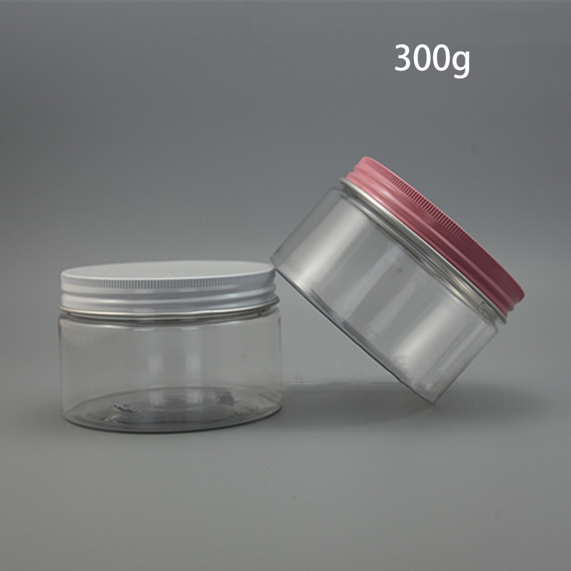20pcs 300g Plastic Cosmetic Bottle 300ml Face Mask Cream Lotion Poly Gel Wax Packing Candy Tea