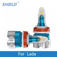 2 Pcs LED Car Headlight H4 LED H1 H7 Auto Headlamps 6000k 12V For Lada Niva/Samara/Signet/Vesta/Granta/Xray/Kalina/Priora/Largus все цены