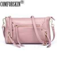 Women Messenger Bag Premium Designer Real Leather European And American Soft Stylish Travelling Shoulder Bags 2017