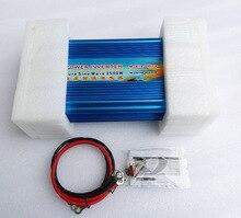 2500 В Вт Чистая синусоида цифровой дисплей инвертор 12 В в/24 В постоянного тока В до 110 В в/220 В AC для солнечной и ветровой системы