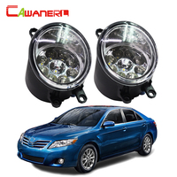 Cawanerl For Toyota Camry 2006 2012 H8 H11 Right Left Fog Light Car LED Light Daytime