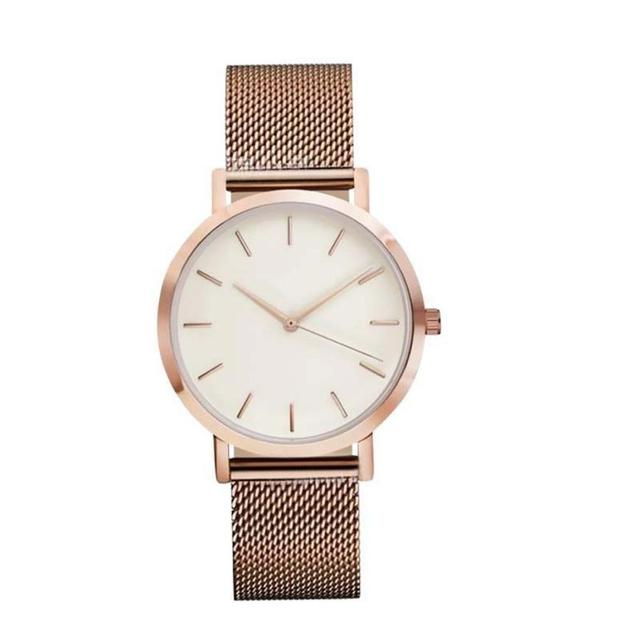 Fashion Women Crystal Stainless Steel Analog Quartz Wrist Watch Bracelet DEC19 2