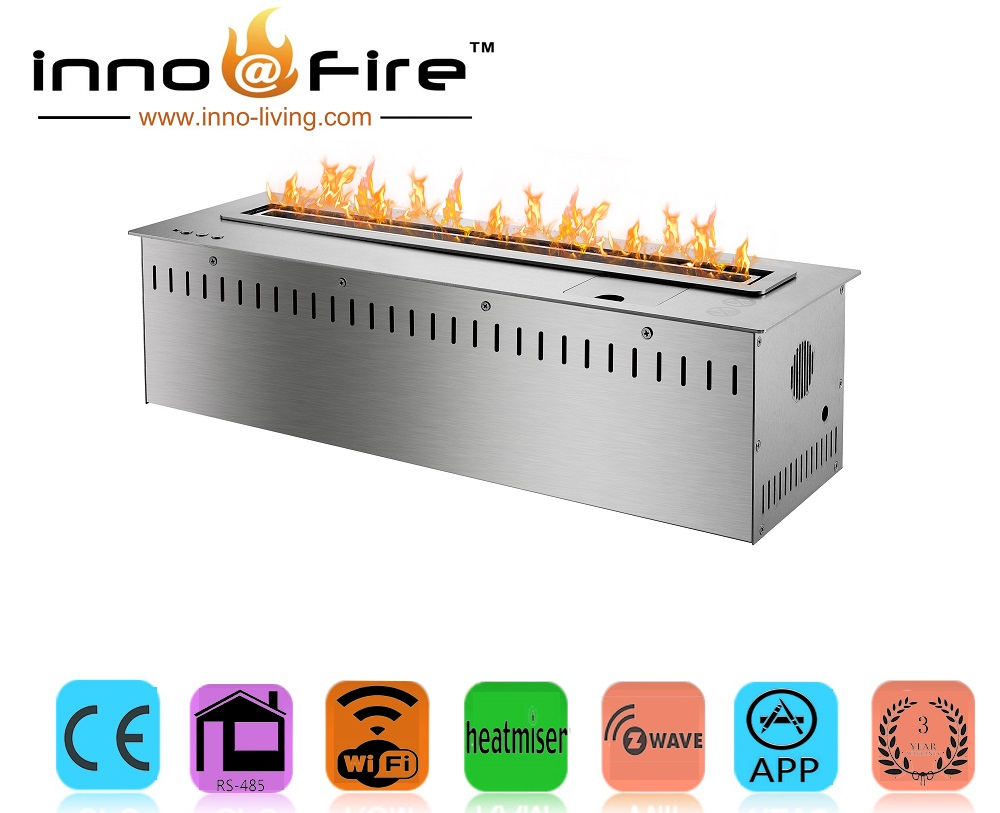 On Sale  24 Inch Stainless Steel Ethanol Fireplace Stove