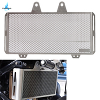 Brushed Stainless R Nine T R9T Radiator Grille Oil Cooler Guard Cover Protector For BMW R Nine T 2014 2018 2015 2016 WISENGEAR