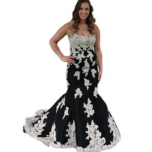 Vestidos De Renda 2016 Ababic Abendkleid Schatz Spitze Appliques Mermaid Formale Party Kleider