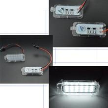 1 пара номерной знак свет 18LED лампы заменить для Ford Mondeo Фокус 5D Canbus высокое качество