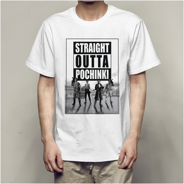 82c0b1362a Game pubg Playerunknown's Battlegrounds anime 3d t shirt T-shirts Summer  Tops Tees funny t shirts man's White T-shirt o-neck