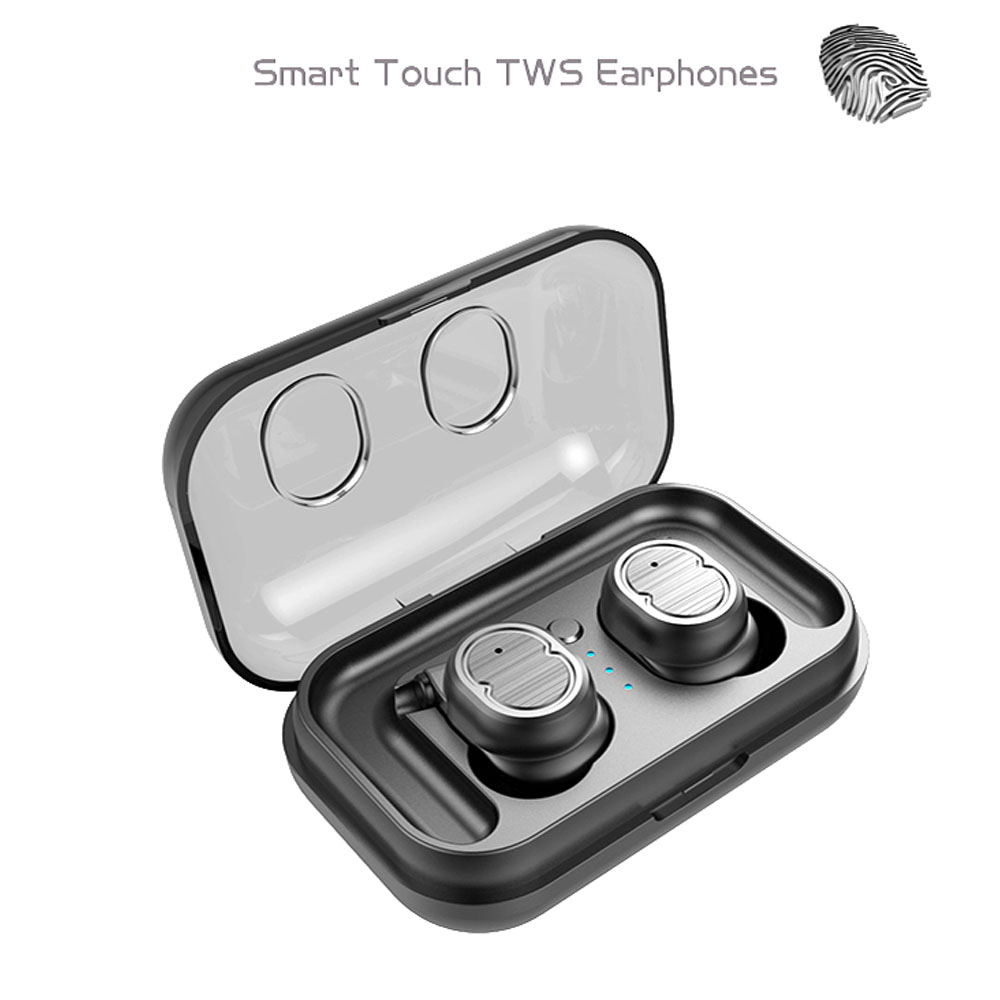 Touch Control DSP Bluetooth 5.0 Earphones Earbuds Sports Stereo Music Headset Wireless Handsfree Mic Charging Box цена