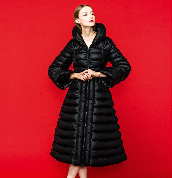 Royalcat 2016 Winter Jacket Women   Down   and parkas 90% Duck   down     coat   woman long thick   coats   Slim Outwear Brand Jackets   Downs