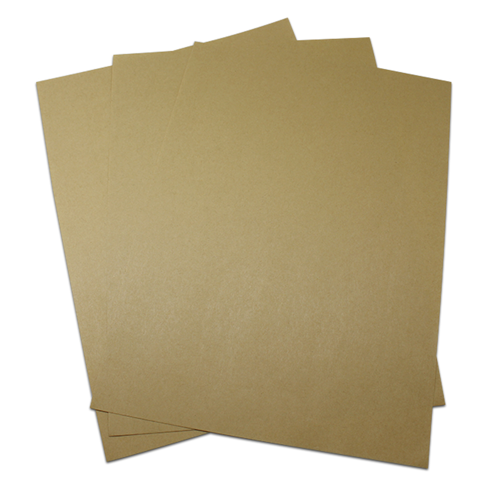 Various specifications 80g-337g Blank Suitable A4 Kraft Paper Sheet Deep Brown Party Craft Copy Paper School Office Supplies