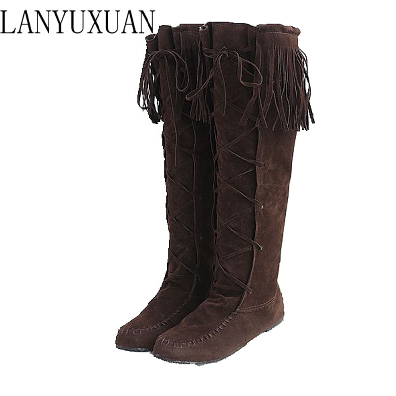 summer style thigh high women woman femininas knee-high boots botas masculina zapatos botines mujer chaussure femme shoes 07