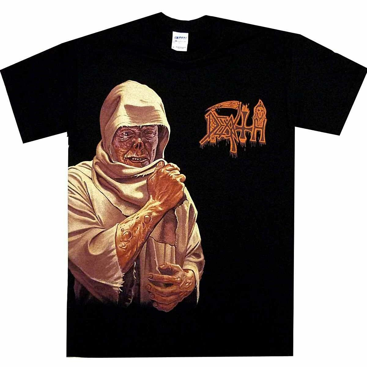 Death Leprosy Leper Side Print Shirt S M L XL Offcl Death Metal T-Shirt Tshirt