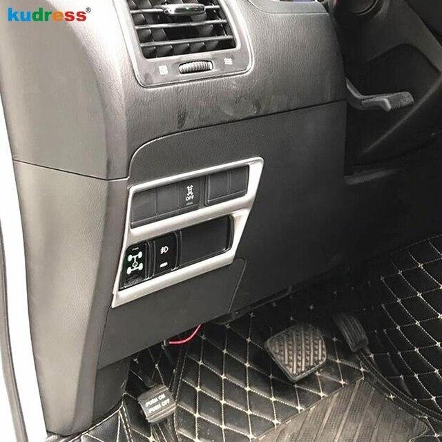 Housse de commande de bouton de commande | Pour Nissan patrouille Armada Royale Nismo Y62 QX56 2016 2017 2018 ABS Matte, interrupteur de phare, style de garniture