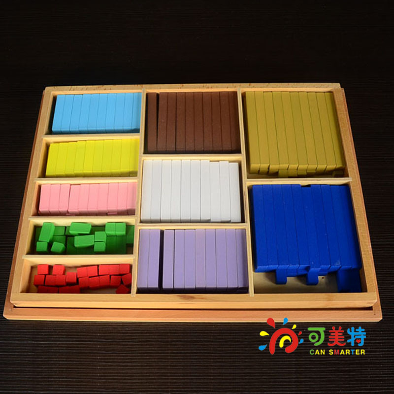 Montessori Materials  Counting  Sticks Calculating Colourful Beech Wood Math Tools  Early educational Can Smarter montessori materials the pythagorean theorem blocks a pack calculate beech wood math tools early educational toys can smarter