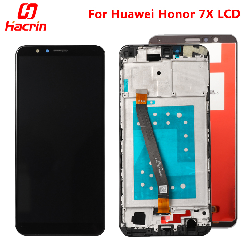 Huawei Ehre 7X LCD Display Touch-Screen-Test Gute Digitizer Montage Ersatz Bildschirm Für Huawei Honor7X BND-AL10 BND-L21/L22