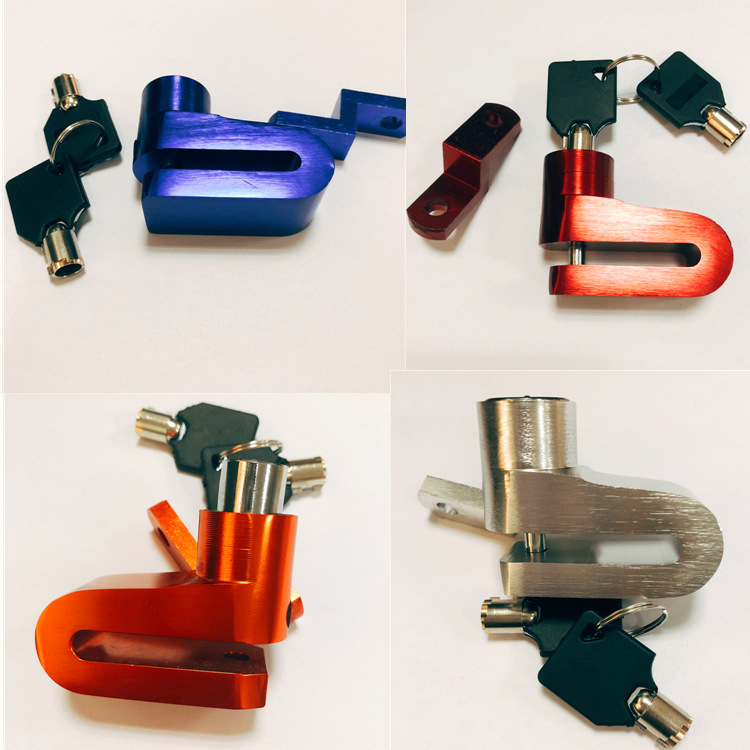 Front And Rear Disc Brakes For Motorcycles Manufacturer Direct Selling Anti-theft Locks For Electric Bicycles