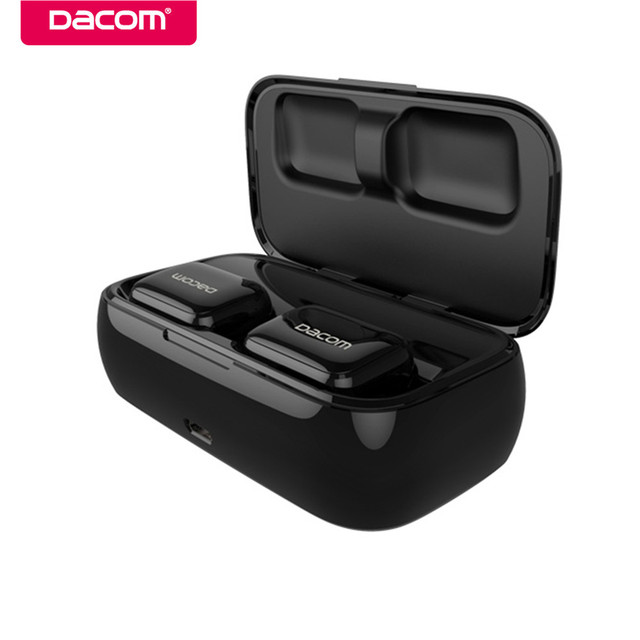 Dacom GF8 Mini Bluetooth Headset True Twins Wireless Earbuds Handsfree Blue tooth Earphones Stereo Casque with Mic for iPhone LG