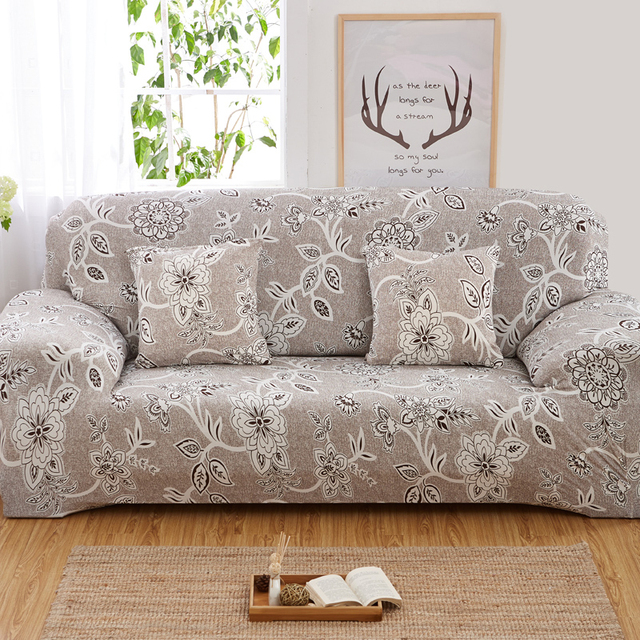 Flexible Stretch Sofa Cover Slip Resistant Living Room Decor Elasticity Couch Machine