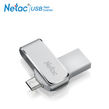 Netac U380 16G 32G 64G USB3.0 Dual Interface For Android Phone and PC High Speed Mini Flash Drive Memory Stick USB-флеш-накопитель