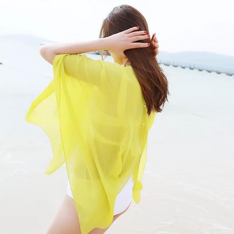 Beachwear bikini swimwear cover up 3