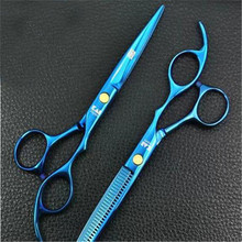 1 pcs Japan Kasho 6.0 inch Hair Scissors Professional tesoura hairdressing salon products with styling tools Hair Cutting Tool