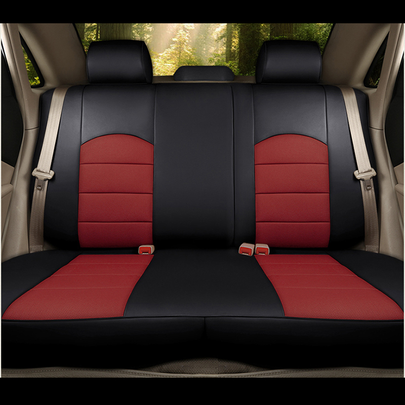 Autotory Cowhide Auto Cover Seat for Mitsubishi Grandis Automobiles Seat Covers Set Leather 7 Seats Supprots Cushion Accessories