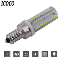 ICOCO 5pcs 10 Pcs 104 LED Corn Bulb Lamp For E12 E14 G4 G9 B15 Base