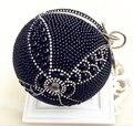 2015 Nuevas Mujeres De Lujo de Diseño en Forma de Globo Perla Bolso de Noche Diamond Totem Moda Famosos Embrague Bolsas de Mensajero Bolso Partido 420x