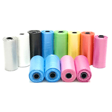 5 Rolls 75 pcs Garbage Bag dogs Cats Pooper Bags Biodegradable Garbage Pet Dog Waste Bags Dog Cat Cleaning Up Refill Garbage Bag