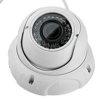 Indoor Outdoor Security 1/3 Cmos 1200TVL Zoom Dome Surveillance CCTV Camera Outdoor 2.8 12mm Lens Home Office Camera