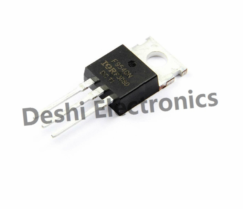 """10 x IRF9540 P-Channel Power MOSFET 23A 100V TO-220 /""""IR/"""""""