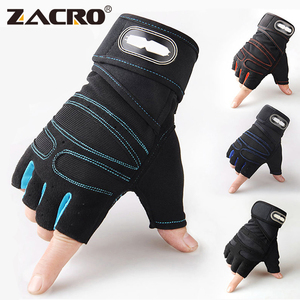 Zacro Gym Gloves Fitness Weight Lifting Gloves Body Building Training Sports Exercise Sport Workout Glove for Men Women M/L/XL(China)
