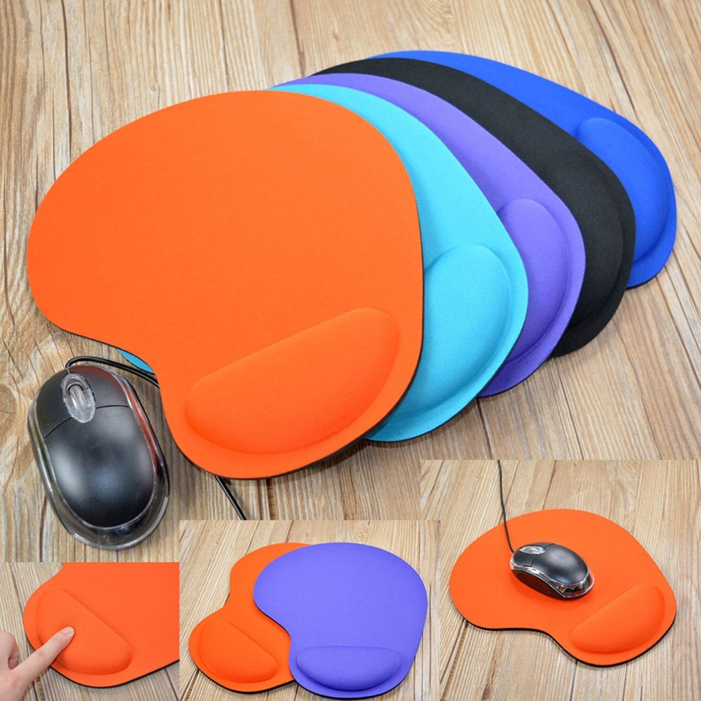 Mouse Pad Wrist Protect Support Optical Trackball PC Thicken Rest Mouse Pad Soft EVA Comfort Mouse Pad Mat Mice Anti-Slip For PC
