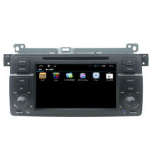 For 7 inch pure android 4.4 E46 car dvd player with GPS+3G+Wifi+DVD+Radio+BT phonebook+Ipod list+USB +SWC+ATV+MP4/MP5+Canbus