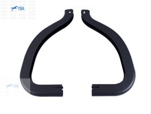 For Nissan Teana / Altima 2013 2014 2015 Plastic Rear Trunk Hinged Protective Cover Trim 2 pcs / set