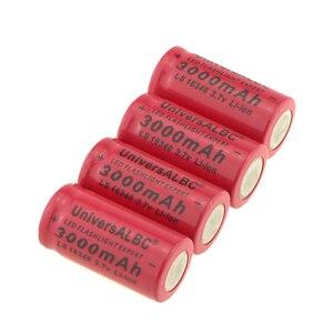 Image 4 - 3000mAh 3.7V Li Ion 16340 แบตเตอรี่ CR123A สำหรับไฟฉาย LED ชาร์จไฟสำหรับ 16340 CR123A แบตเตอรี่