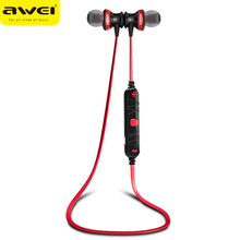 Awei A980BL Bluetooth Earphone in ear wireless headset Stereo Music earphones for sports Handsfree With Microphone