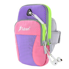Tuban sports running bag for 5-6 inch phone waterproof mobile phone arm bag for running fitness cycling