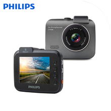 Philips Car Dash Cam WIFI G-Sensor DVR Camera Full HD Video Recorder With 1080P Wide Angle Real Cycling Recording Carcorder цена