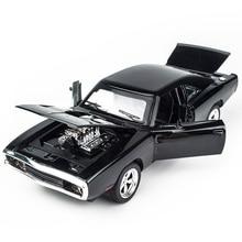 Kidami 1:32合金ダイキャストモデルダッジチャージャーワイルドスピードおもちゃ車両子供のミニ自動クラシック金属車