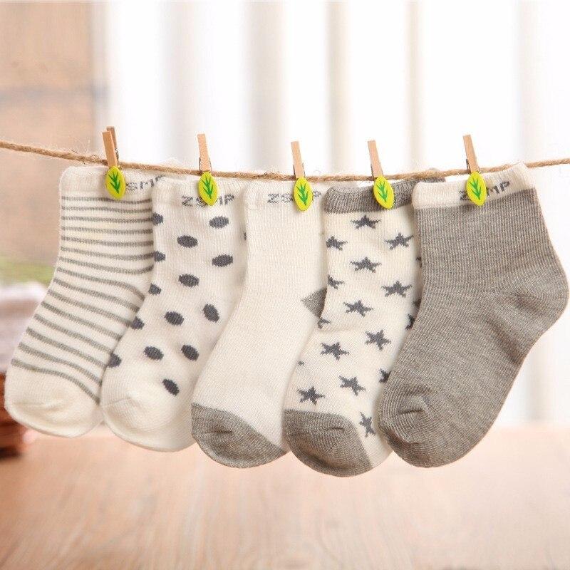 Летние сетчатые тонкие детские носки для девочек 5 парт/Лот, хлопковые носки для новорожденных мальчиков и малышей, детская одежда, аксессуа...