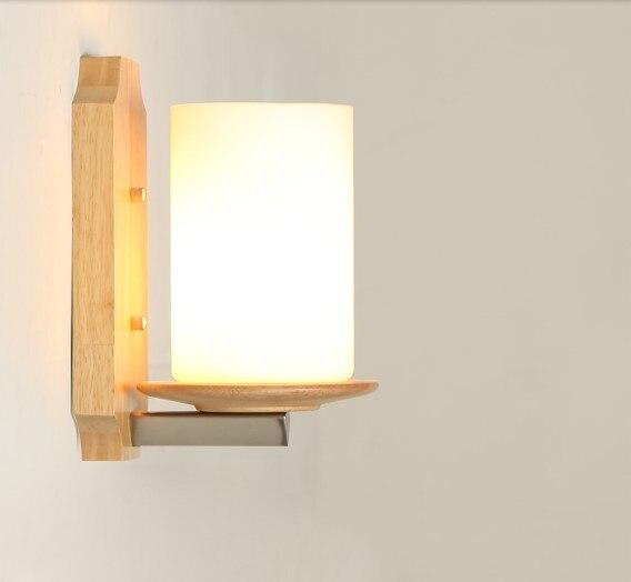 Творческий Деревянные Настенные светильники светодиодные Гостиная проход коридор beisde светильник Настенный бра arandela <font><b>aplik</b></font> wandlamp