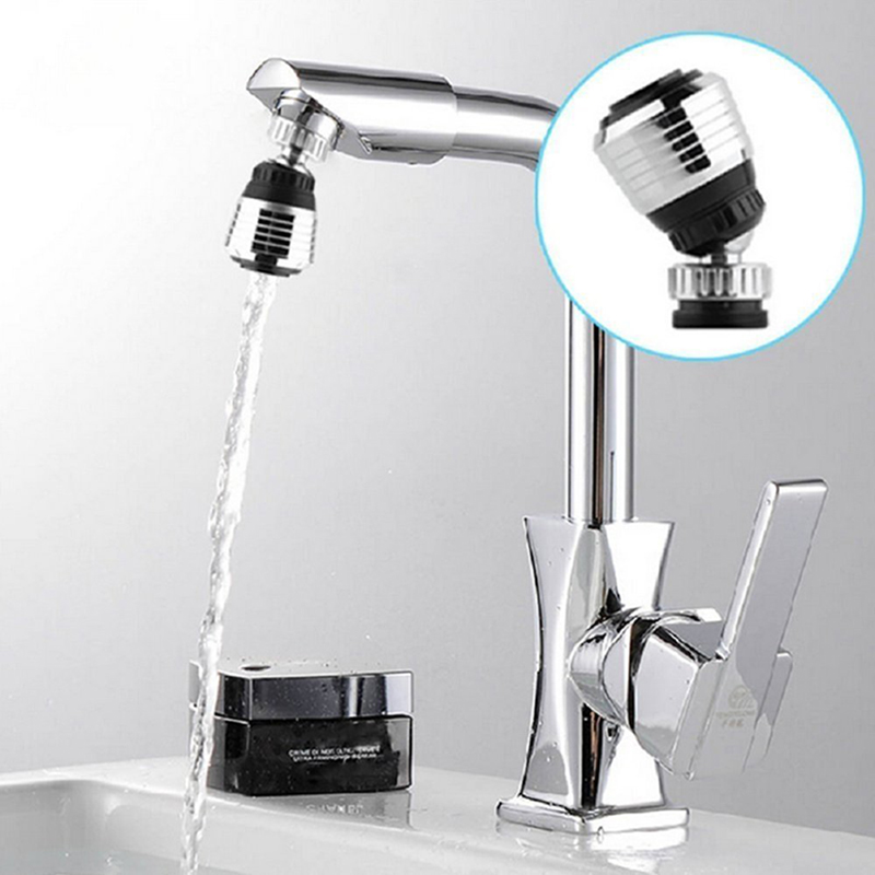 LUCOG 360 Rotate Swivel Faucet Nozzle Torneira Water Filter Adapter Water Purifier Saving Tap Aerator Diffuser Kitchen Shower