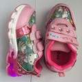 girls cartoon shoes spring and autumn kitty lights flash LED fashion children kids princess Sneakers
