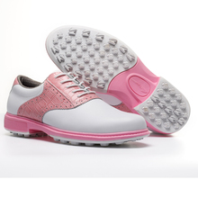 new women golf shoes sports waterproof breathable golf sport shoes lady pink shoes tennis girl walk shoes colors top quality