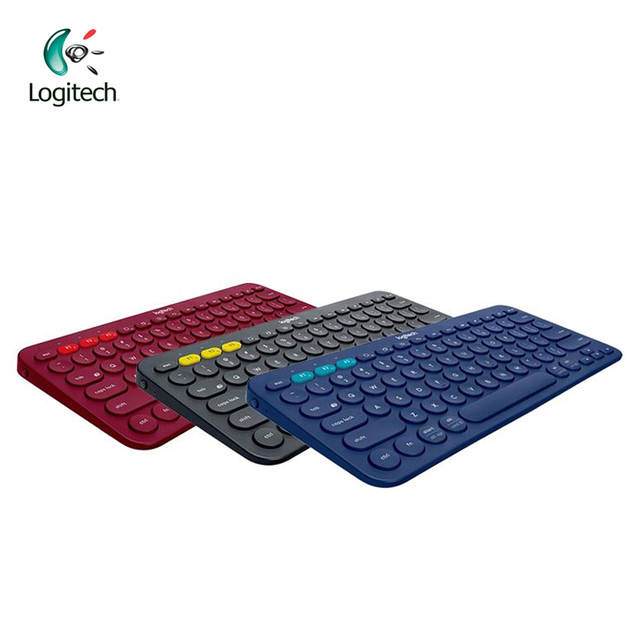 US $51 55 |Logitech K380 Multi Device Bluetooth Keyboard with 2 AAA Battery  Support Official Verification for Windows Mac Chrome OS-in Keyboards from