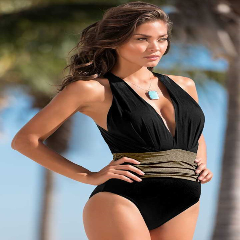 One Piece Swimsuit Swimwear Women Monokini Backless Swimming Suit for Women Sexy Bathing Suit swim tankini plus size Beachwear black blue one piece swimsuit monokini backless sexy leotard women plus size bathing suit top quality transparent mesh swimwear